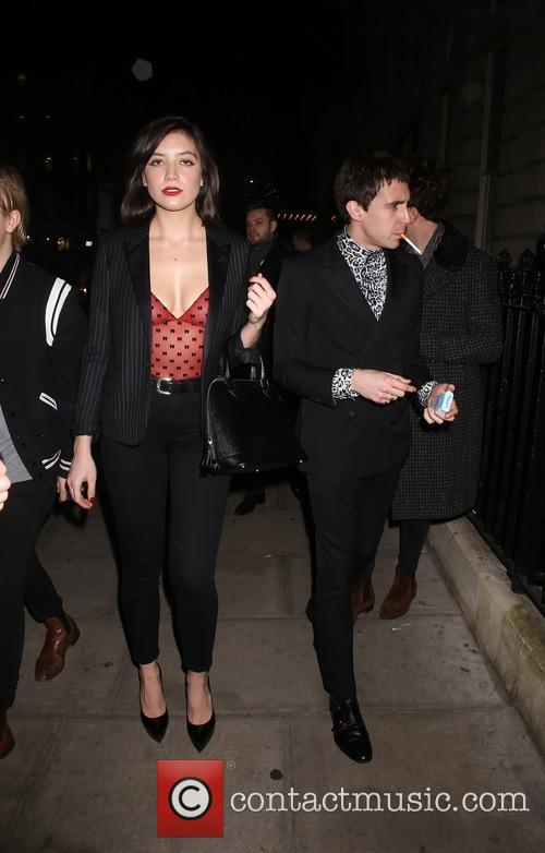 Miles Kane and Daisy Lowe