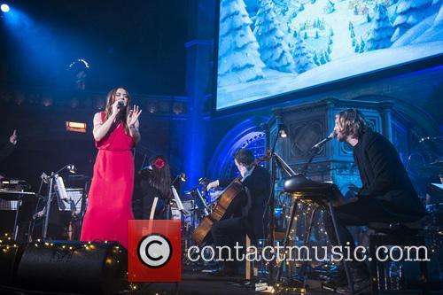 Melanie C and Andy Burrows 6