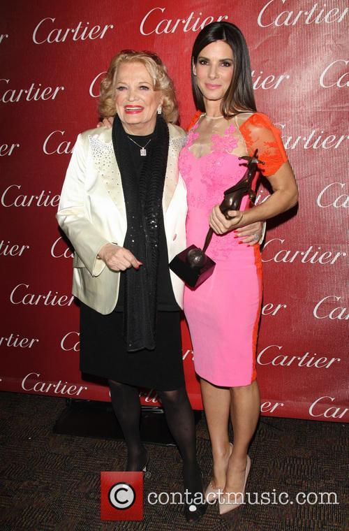 Gena Rowland and Sandra Bullock 2