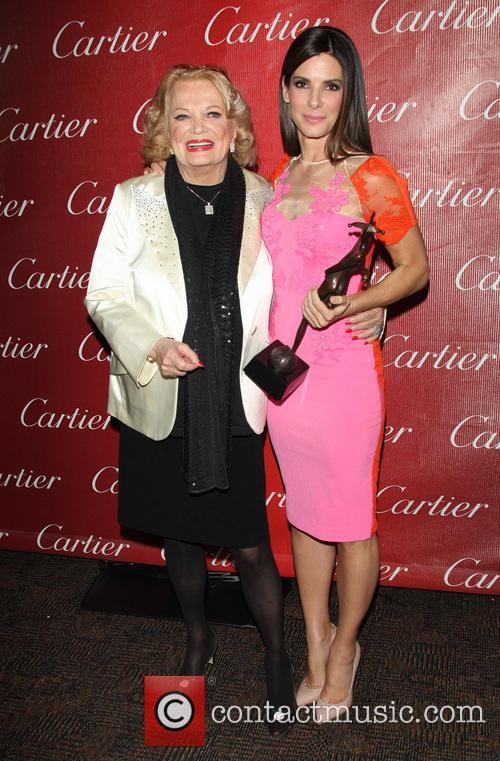 Gena Rowland and Sandra Bullock