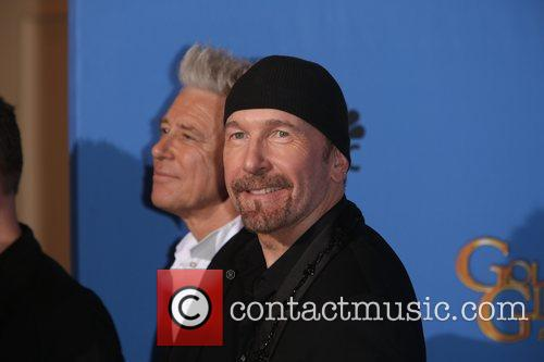 Adam Clayton and The Edge 9