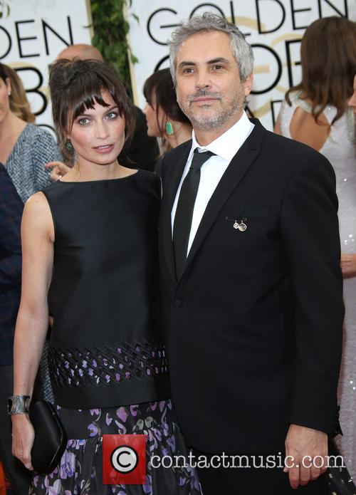 Alfonso Cuaron and Sheherazade Goldsmith 4