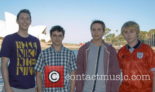 Blake Harrison, Simon Bird, Joe Thomas and James Buckley 2
