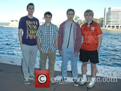 Blake Harrison, Simon Bird, Joe Thomas and James Buckley 1