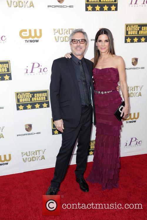 Alfonso Cuaron and Sandra Bullock 4