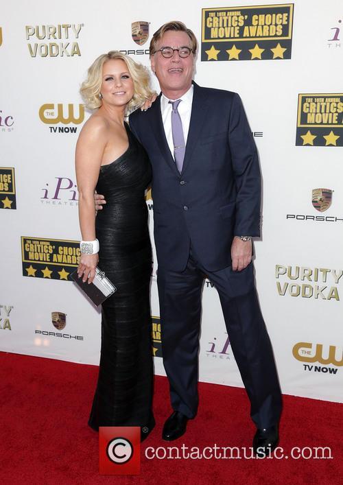Carrie Keagan and Aaron Sorkin