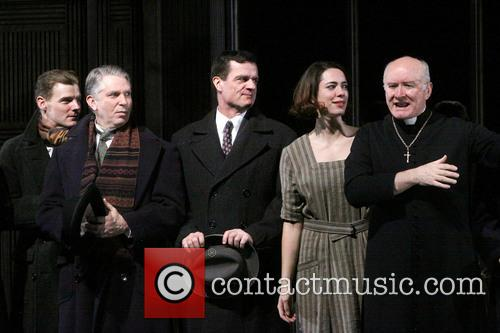 Jason Loughlin, Michael Warner, Michael Cumpsty, Rebecca Hall and Edward James Hyland