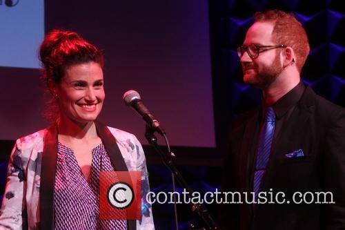 Idina Menzel and David Alpert