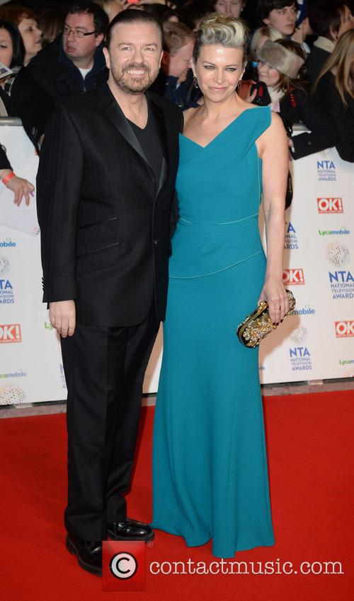 Ricky Gervais and Jane Fallon 3