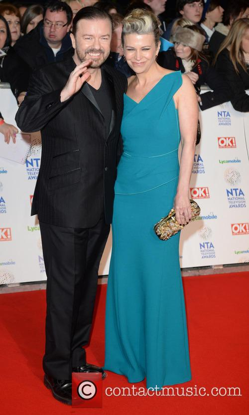 Ricky Gervais and Jane Fallon 4