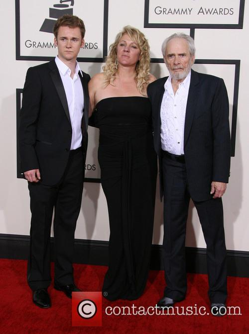 Merle Haggard, Theresa Ann Lane and Ben Haggard
