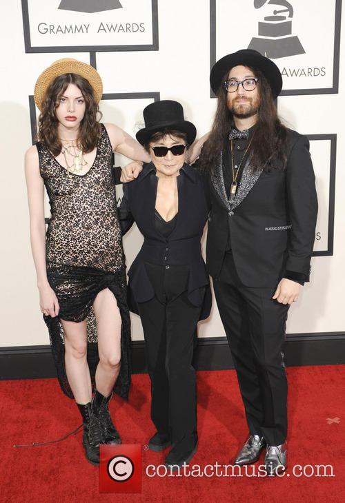 Yoko Ono and Sean Lennon 1