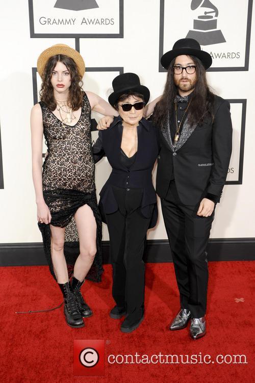 Yoko Ono and Sean Lennon 5