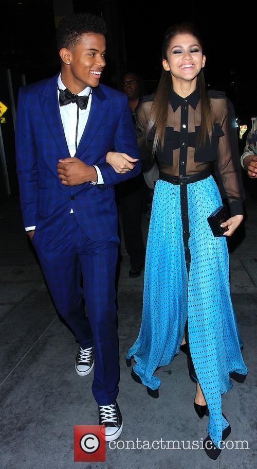 Zendaya Coleman and Trevor Jackson 1