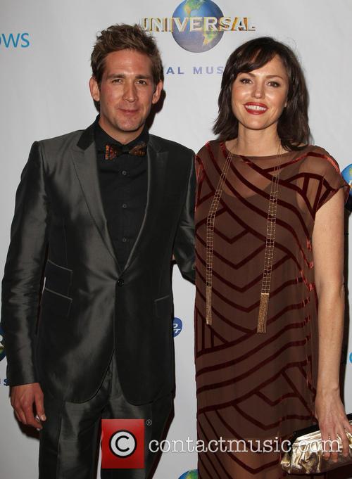 Eric Szmanda and Jorja Fox