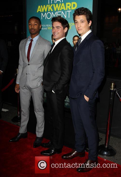 Michael B. Jordan, Zac Efron and Miles Teller 7