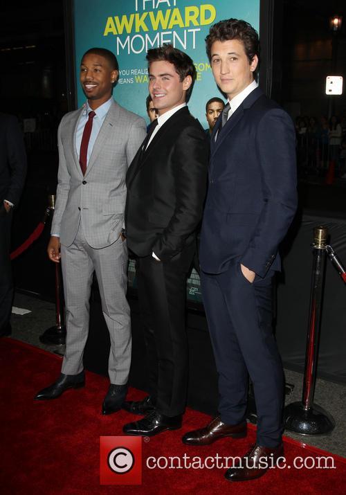 Michael B. Jordan, Zac Efron and Miles Teller 8