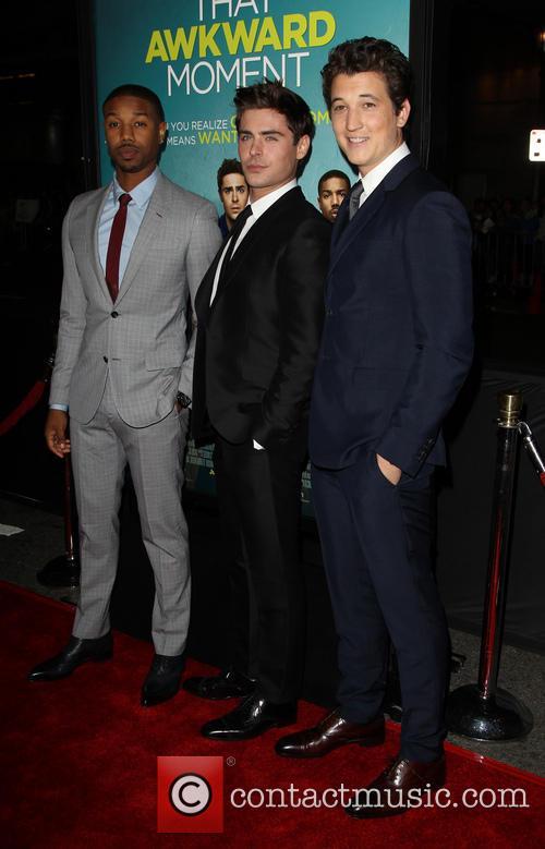 Michael B. Jordan, Zac Efron and Miles Teller 9