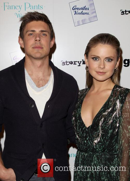 Chris Lowell and Rose Mciver