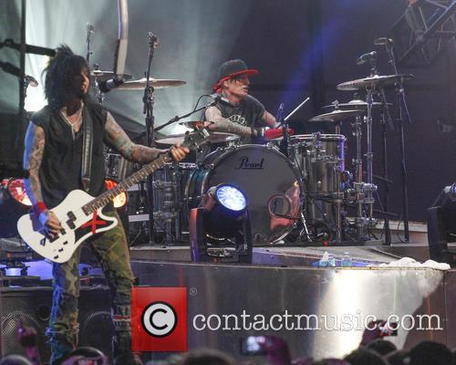 Motley Crue, Tommy Lee and Nikki Sixx