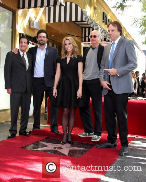 Cheryl Hines, Peter Roth, Jeremy Sisto, Larry David and Kevin Nealon