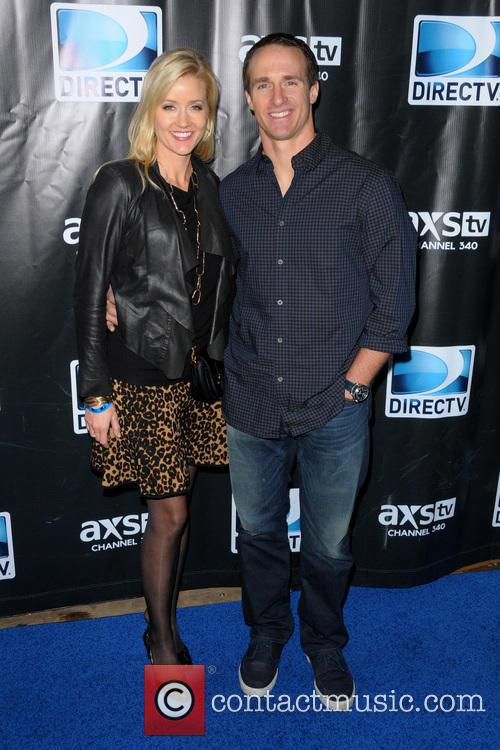 Drew Brees and Brittany Brees