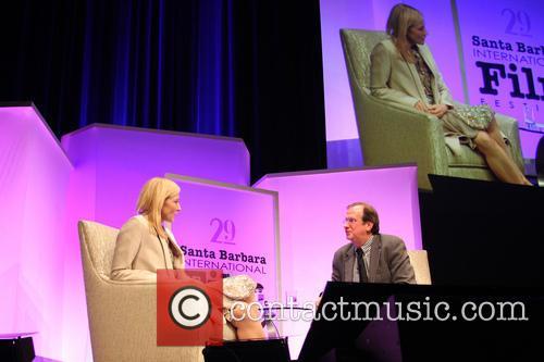 Cate Blanchett and Pete Hammond 4