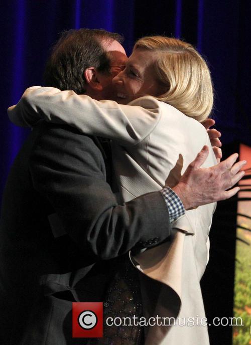 Cate Blanchett and Pete Hammond 6