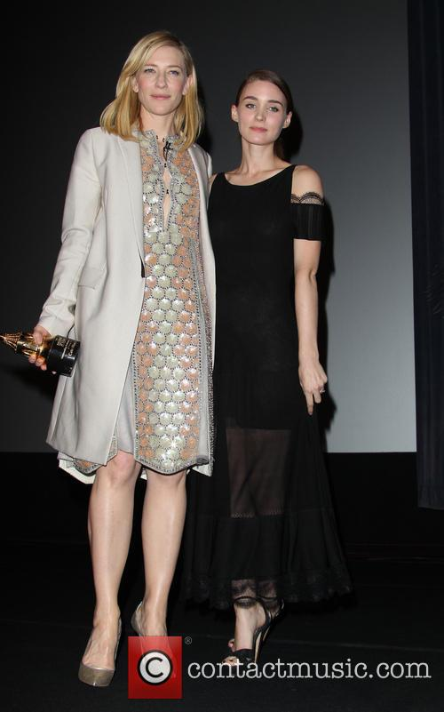Cate Blanchett and Rooney Mara 8