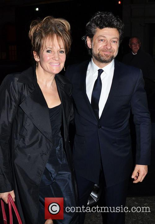 Andy Serkis and Lorraine Ashbourne 6