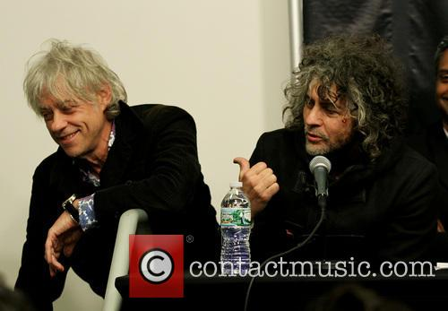 Bob Geldof and Wayne Coyne 2