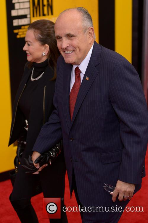 Judith Nathan and Rudy Giuliani 1