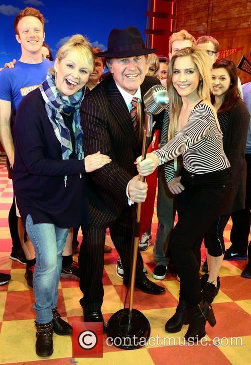Cheryl Baker, Bill Cullen and Heidi Range