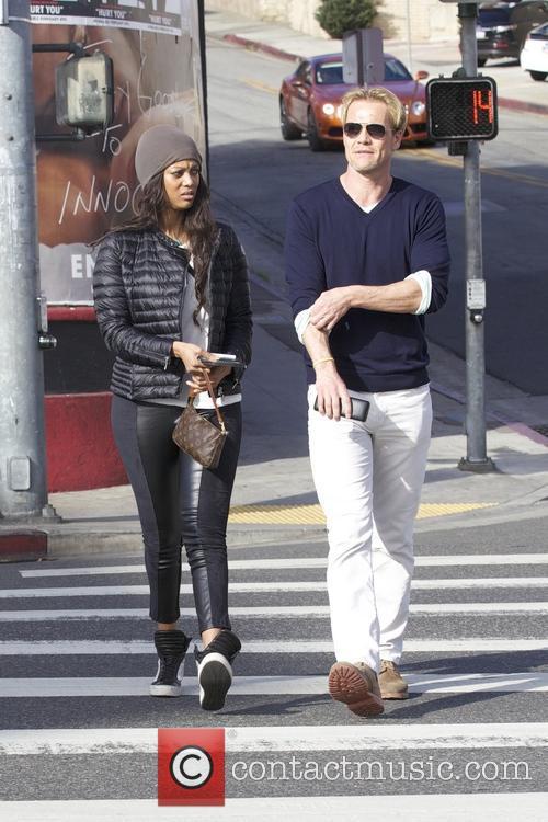 Tyra Banks and Erik Asla 2