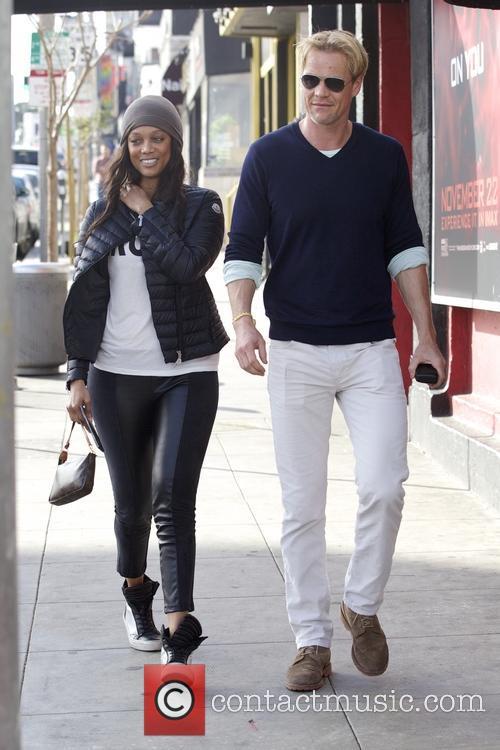 Tyra Banks and Erik Asla 3