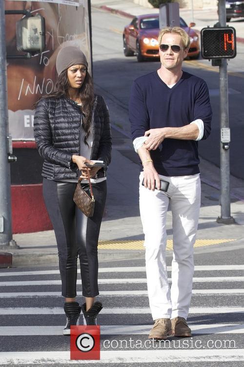 Tyra Banks and Erik Asla