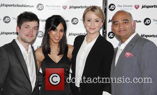 (l-r) Jamie Shelton, Fiona Wade, Sammy Winward and Bhasker Patel 2