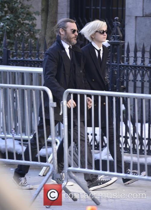 Joaquin Phoenix and Allie Teilz 2