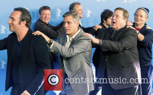 Jean Dujardin, George Clooney, John Goodman, Bill Murray, Dimitri Leonidas, Hugh Bonneville and Justus Von Dohnányi