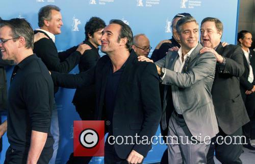 Matt Damon, Jean Dujardin, George Clooney and John Goodman