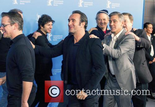 Matt Damon, Jean Dujardin, George Clooney, John Goodman, Bill Murray and Dimitri Leonidas