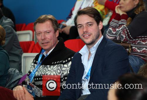 Henri, Grand Duke Of Luxembourg and Prince Felix Of Luxembourg 8