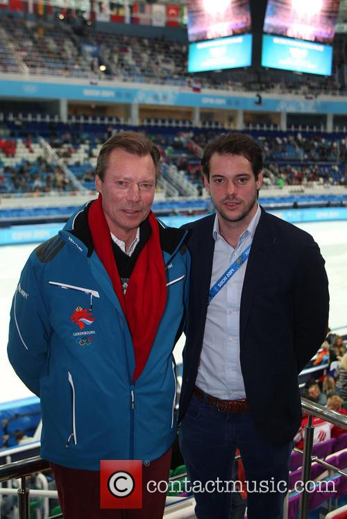 Henri, Grand Duke Of Luxembourg and Prince Felix Of Luxembourg 9