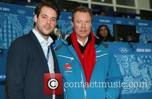 Henri, Grand Duke Of Luxembourg and Prince Felix Of Luxembourg 10