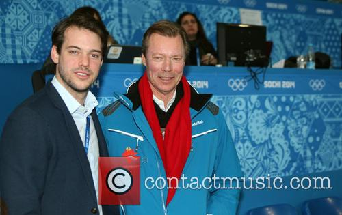 Henri, Grand Duke Of Luxembourg and Prince Felix Of Luxembourg 11