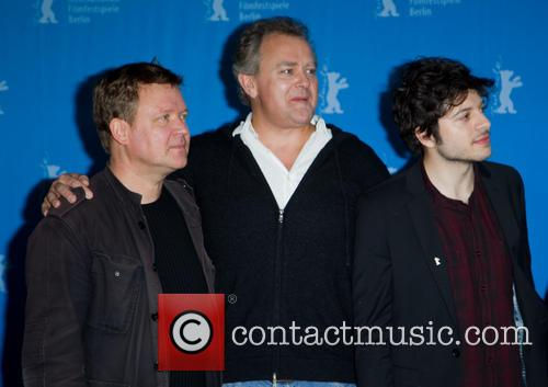 Justus Von Dohnanyi, Hugh Bonneville and Dimitri Leonidas