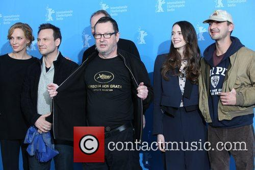 Uma Thurman, Christian Slater, Lars Von Trier, Stacy Martin and Shia Labeouf 5