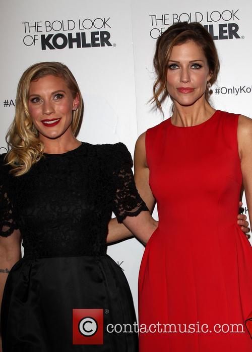 Katee Sackhoff and Tricia Helfer