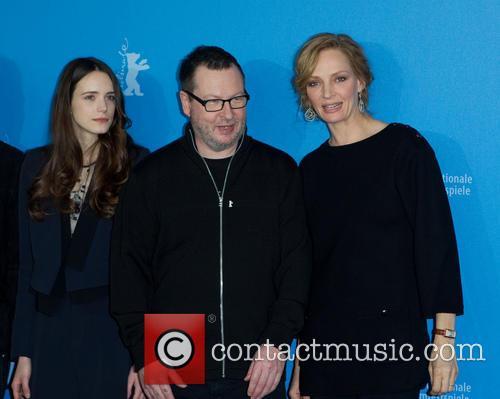 Lars Von Trier, Uma Thurman and Stacey Martin 2