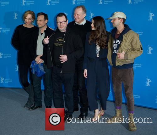 Lars Von Trier, Uma Thurman, Stacey Martin, Stellan Skarsgard, Christian Slater and Shia Labeouf 6